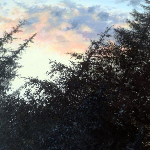 a closeup of an acrylic painting