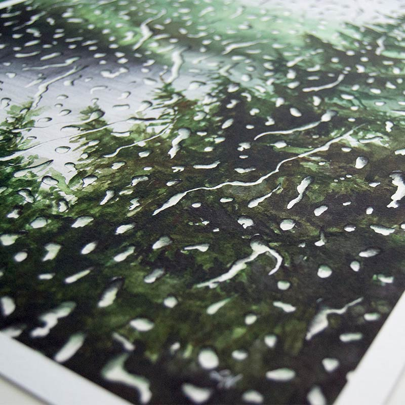 fine art print paper texture