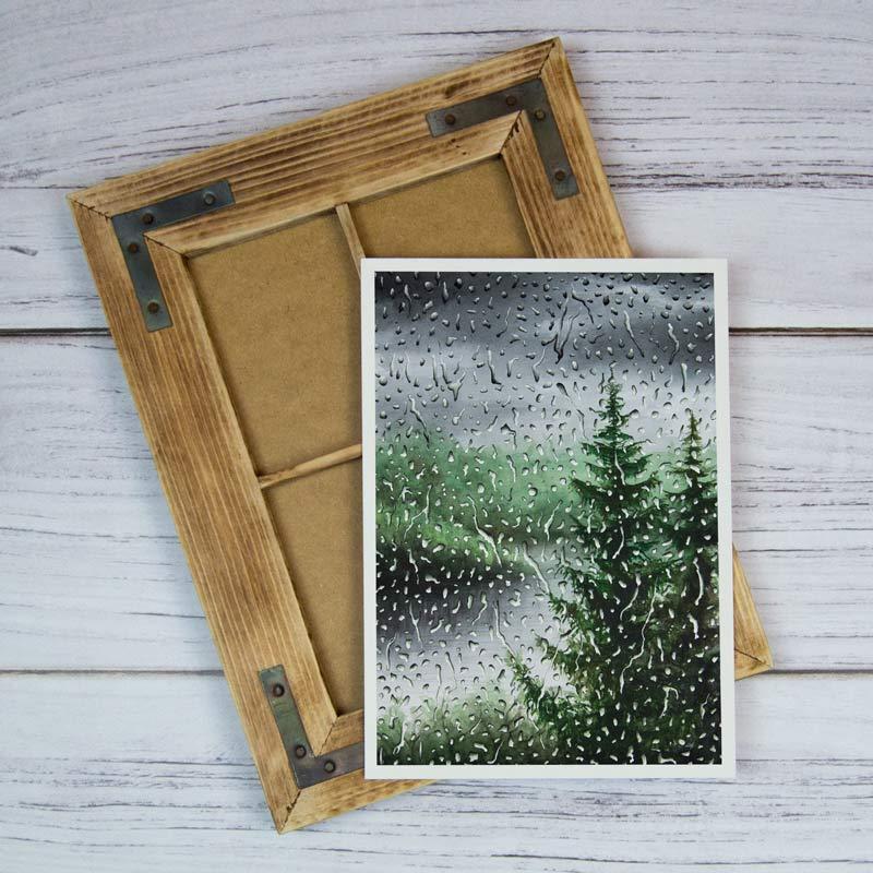 gloomy rain painting