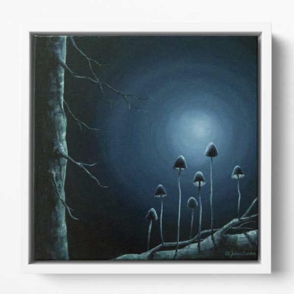 painting of the moon